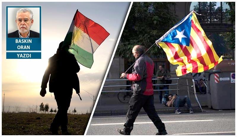 Ayrı dünyaların referandumları Katalonya ve Kürdistan