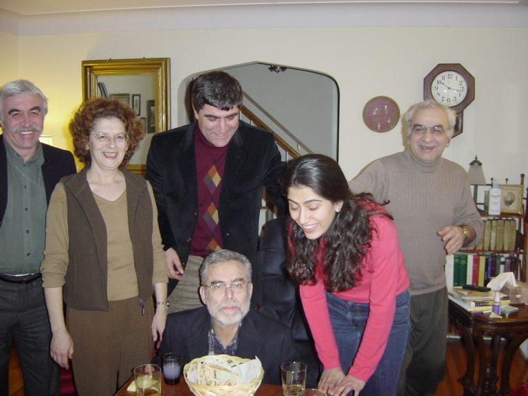 Prof. Libaridian'ın evinde