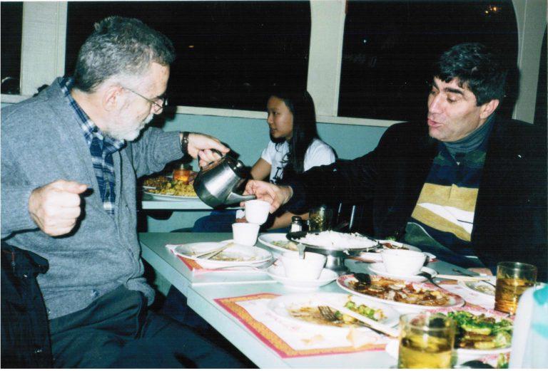 Hrant'la yemekte - Mart 2002