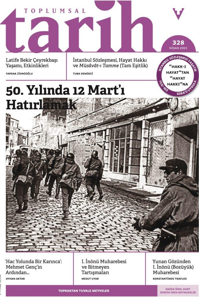Toplumsal Tarih Dergisi Kapağı - Nisan 2021