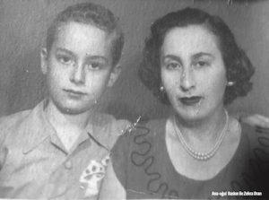 Ana-oğul Baskın ile Zehra Oran