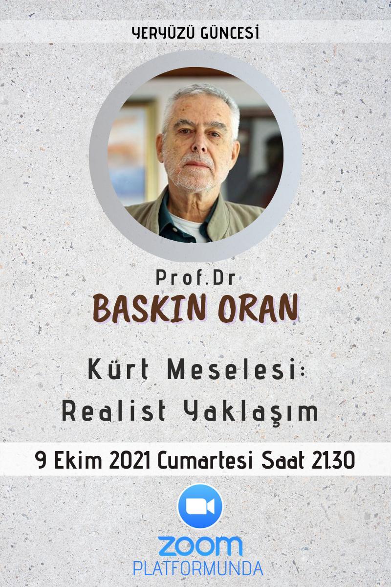 """Afiş: Gülayşe Koçak'la 9 Ekim 2021 Cumartesi Saat 21:30'de Zoom'da """"Kürt Meselesi: Realist Yaklaşım"""" başlıklı bir mülakat gerçekleştireceğiz"""